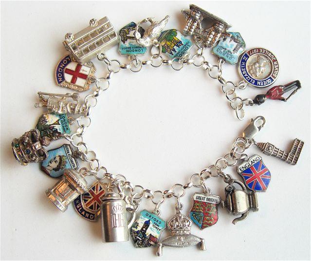 Echarmony Com Vintage Silver Amp Enamel Souvenir Travel