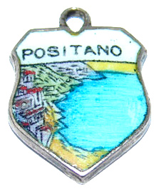 Scenic Enamel Travel Shield Charms